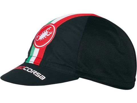 Castelli - čepice Performance Cycling, black