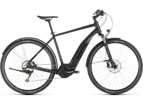 Elektrokolo CUBE CROSS HYBRID EXC 500 ALLROAD BLACK´N´GREY 2019