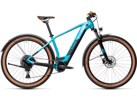 Elektrokolo CUBE REACTION HYBRID PRO 29 625 Allroad 2021 Petrol'n'orange