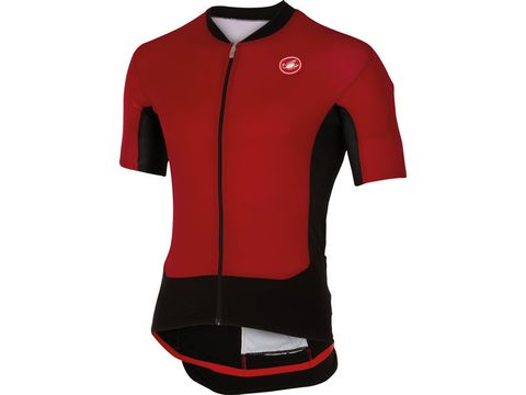 Castelli - pánský dres RS Superleggera, ruby red