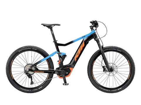Elektrokolo KTM MACINA LYCAN 275 2019 Black matt (azzuro+orange)