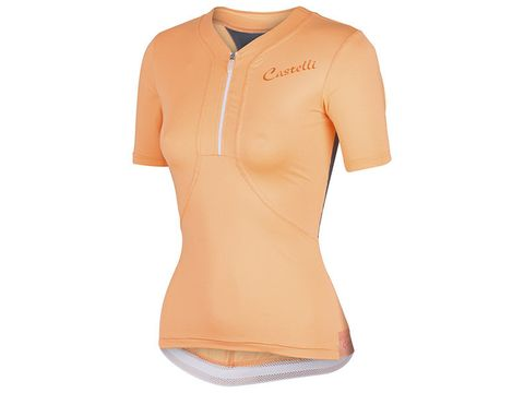 Castelli – dámský dres Bellissima, light orange