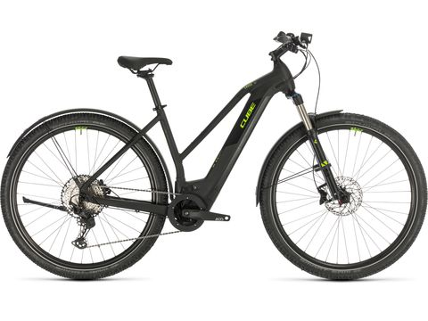 Elektrokolo CUBE CROSS HYBRID RACE ALLROAD 625 TRAPEZE 2020 Black´n´green
