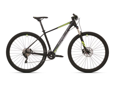 SUPERIOR XC 889 Matte Black/Dark Silver/Neon Yellow 2020