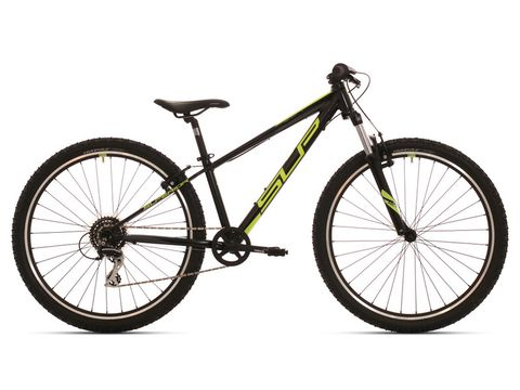 Dětské kolo SUPERIOR RACER 27 Gloss Black/Neon Yellow/Dark Grey 2019