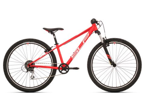 Dětské kolo SUPERIOR RACER 27 Matte Neon Red/White/Dark Red 2019