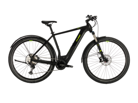 Elektrokolo CUBE CROSS HYBRID RACE ALLROAD 500 2020 Black´n´green
