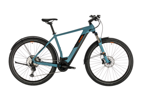 Elektrokolo CUBE CROSS HYBRID RACE ALLROAD 625 2020 Blue´n´orange